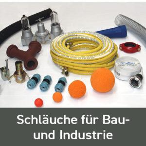 Schläuche für Bau- und Industrie